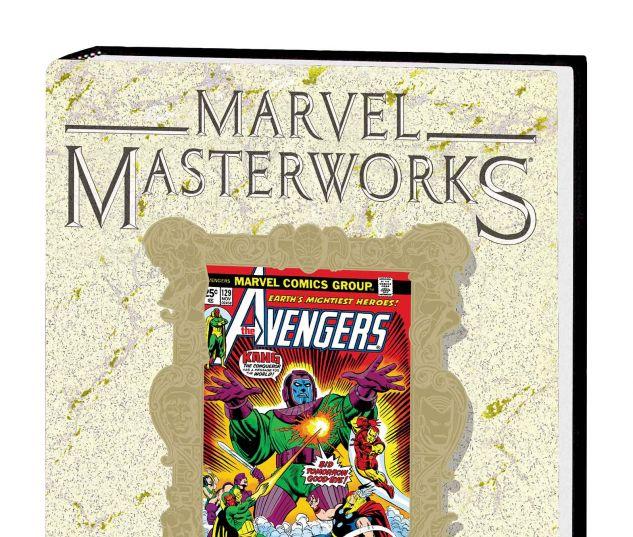 MARVEL MASTERWORKS: THE AVENGERS VOL. 14 HC VARIANT (DM ONLY)