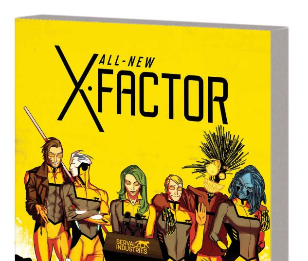 ALL-NEW X-FACTOR VOL. 2: CHANGE OF DECAY TPB