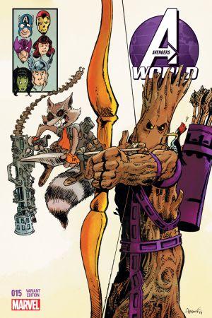 Avengers World (2014) #15 (Aragones Rr&G Variant)