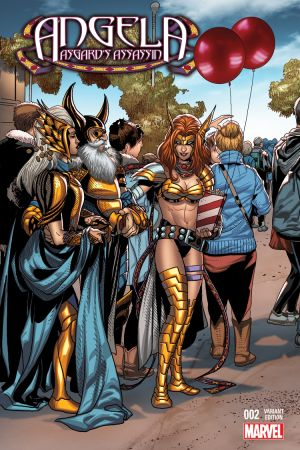 Angela: Asgard's Assassin #2  (Larroca Welcome Home Variant)