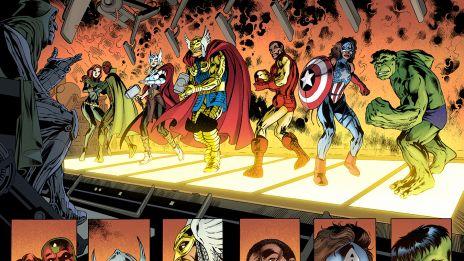 Avengers: Ultron Forever #1 preview art by Alan Davis