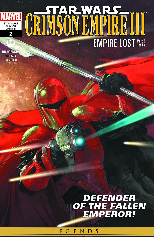 Star Wars: Crimson Empire Iii - Empire Lost (2011) #2