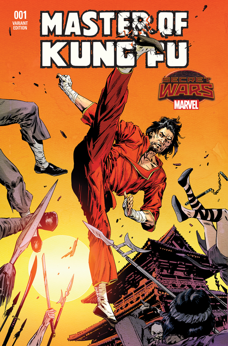 Master of Kung Fu (2015) #1 (Guice Variant)