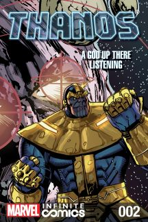 Thanos: A God Up There Listening Infinite Comic #2