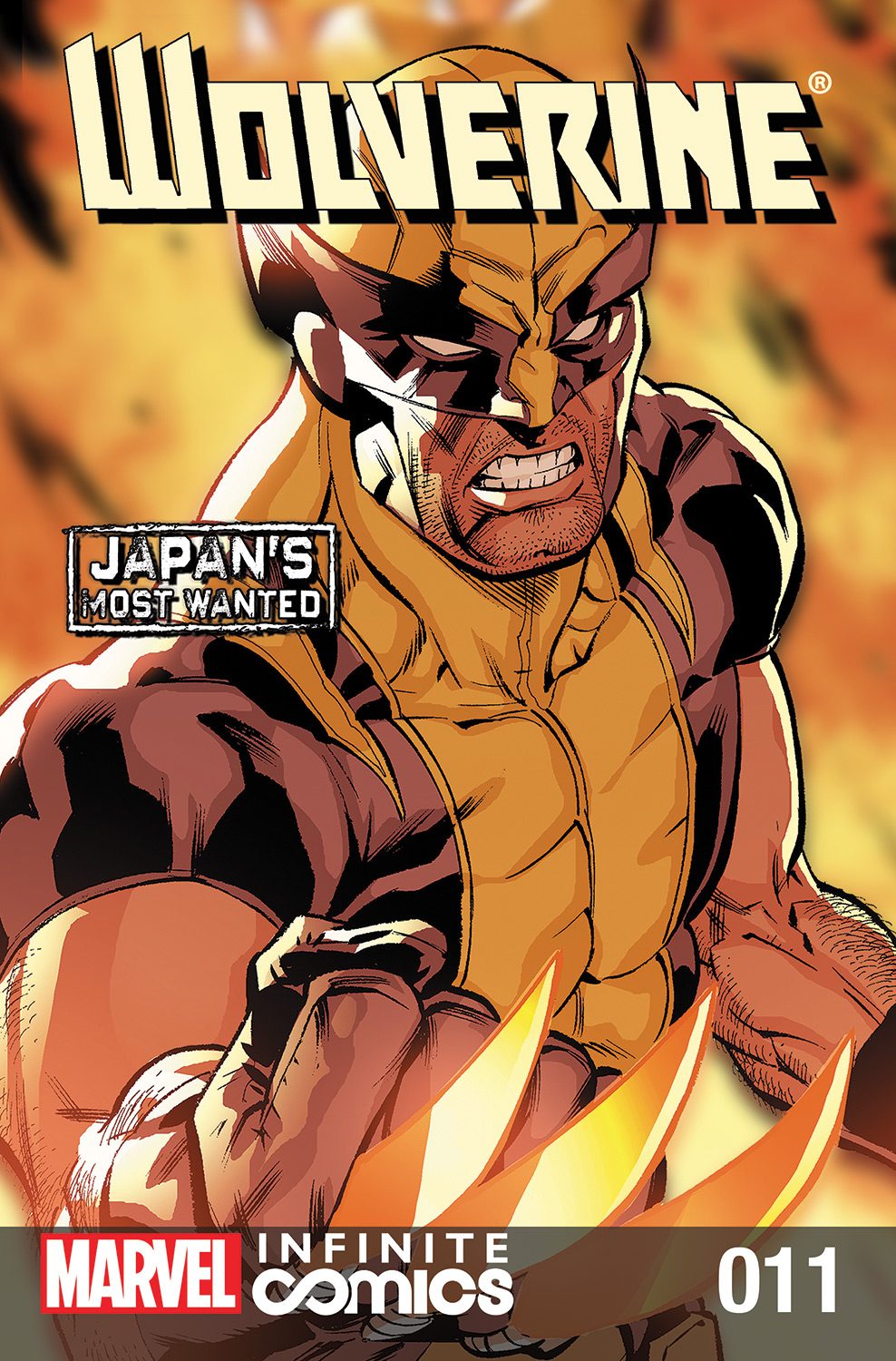 Wolverine: Japan's Most Wanted Infinite Comic (2013) #11