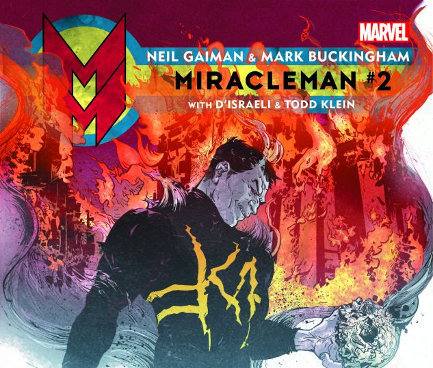 MIRACLEMAN BY GAIMAN & BUCKINGHAM 2 POPE VARIANT (POLYBAGGED)