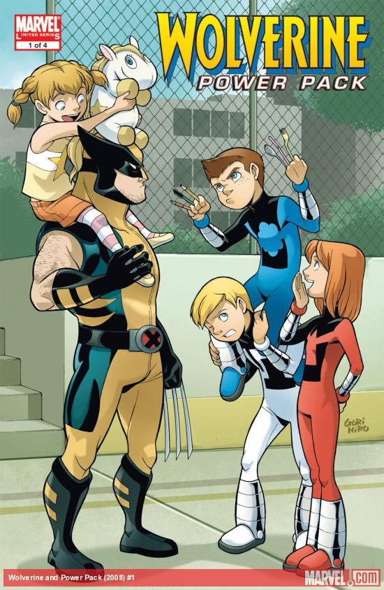 Wolverine and Power Pack (2008) #1