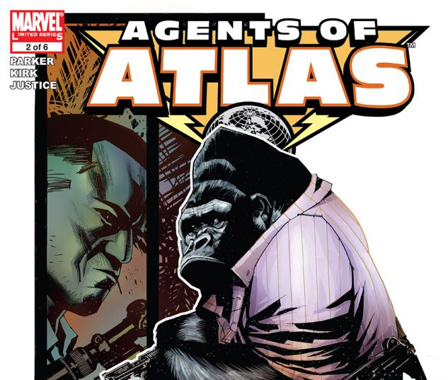 Agents of Atlas (2006) #2 Cover