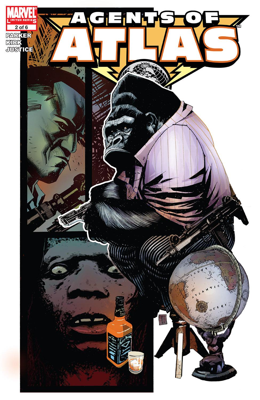 Agents of Atlas (2006) #2