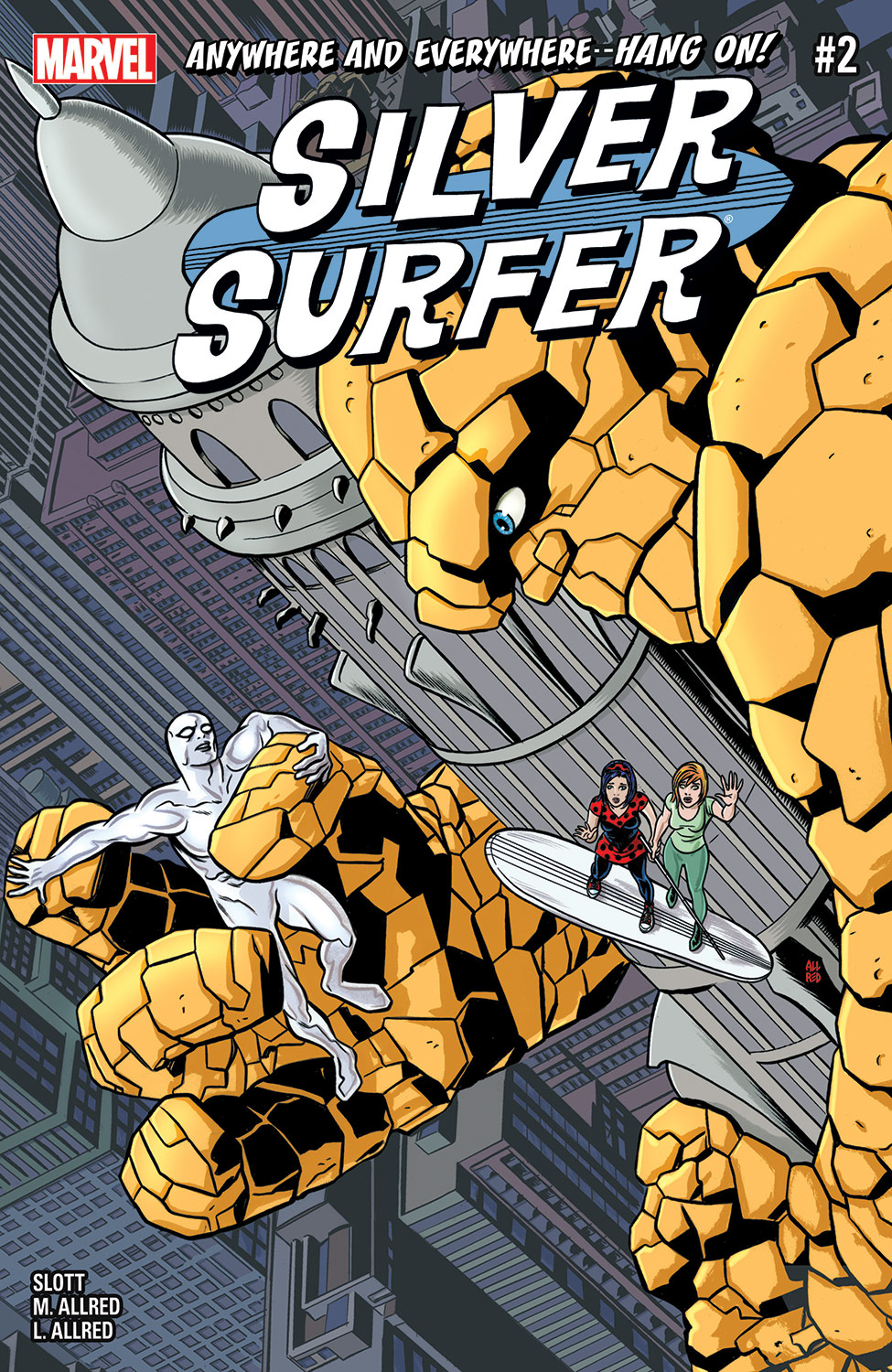 Silver Surfer (2016) #2