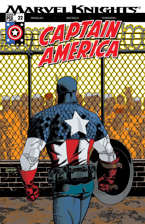 Captain America (2002) #22