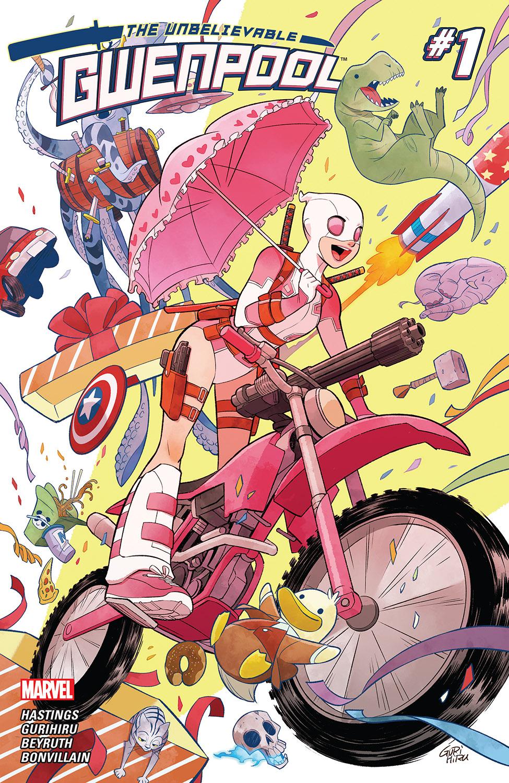 The Unbelievable Gwenpool (2016) #1