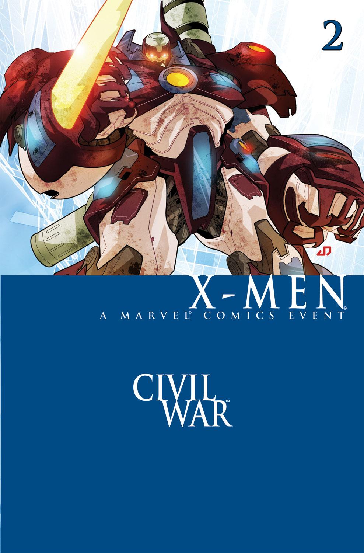 Civil War: X-Men (2006) #2