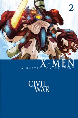 Civil War: X-Men (2006) #2