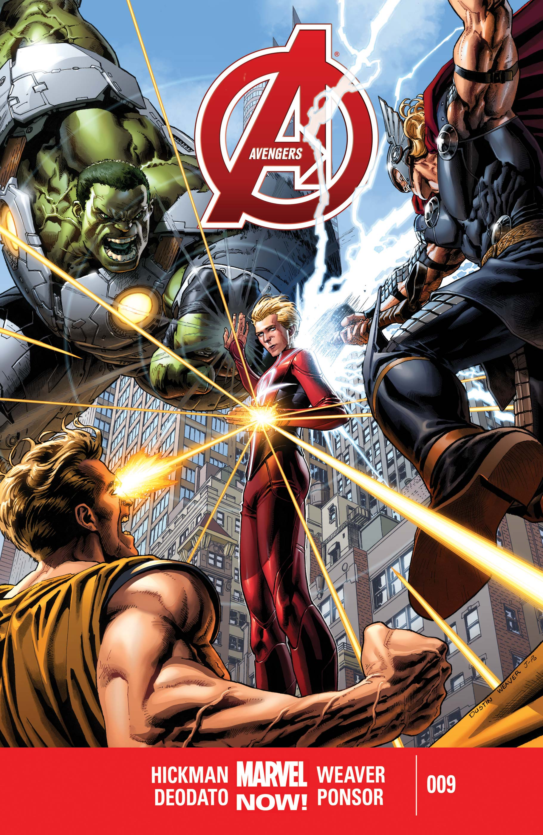 Avengers (2012) #9