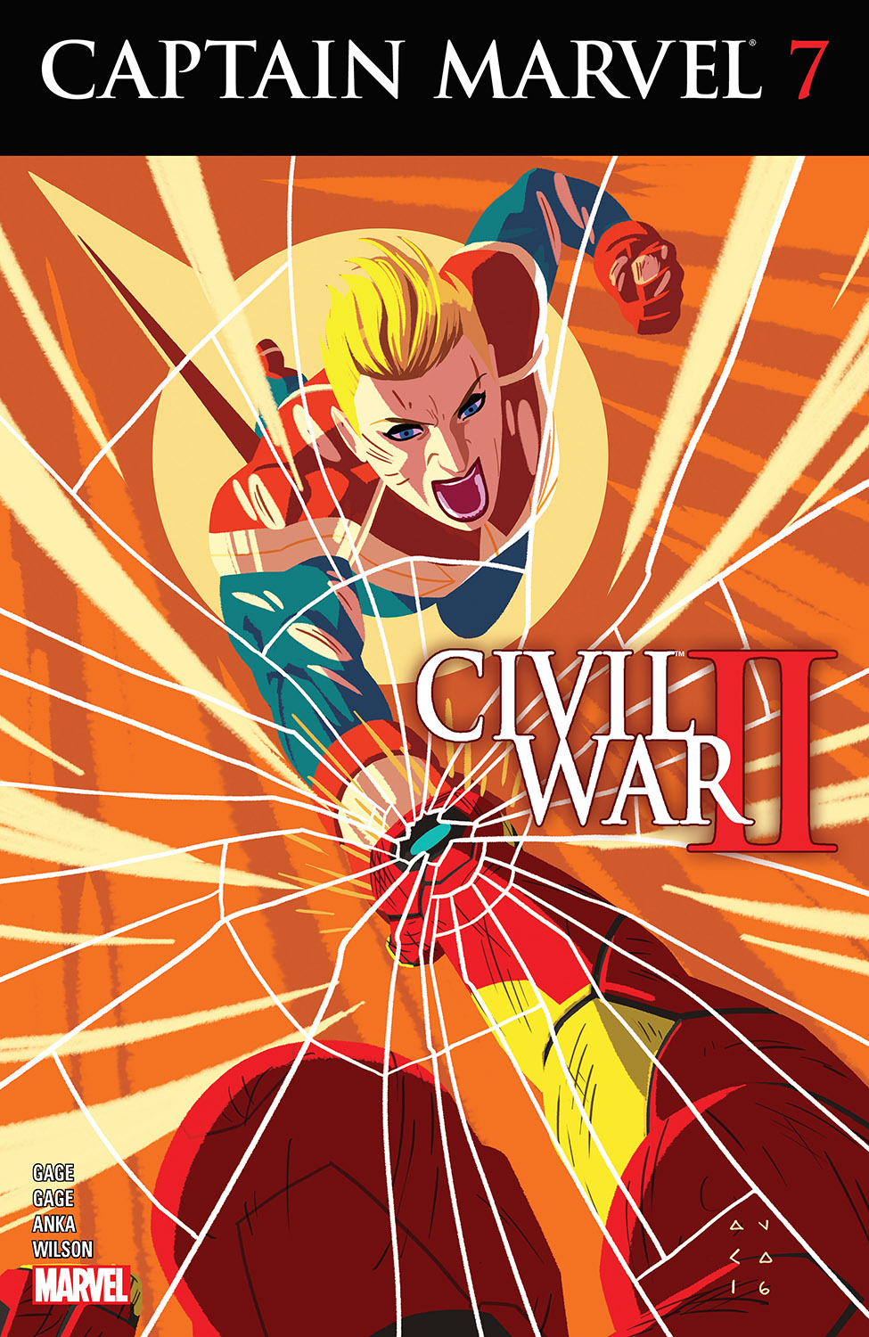 Captain Marvel (2016) #7