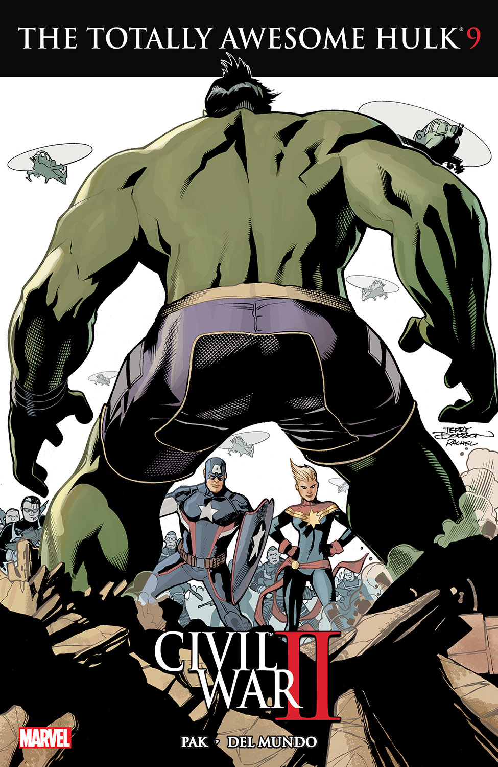The Totally Awesome Hulk (2015) #9