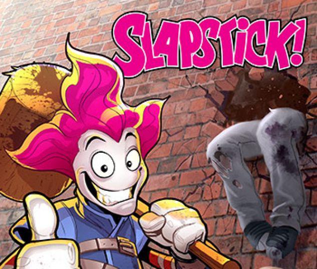cover from Slapstick Infinite Comic (2016) #1