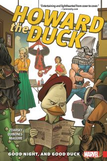 Howard The Duck Vol. 2: Good Night, and Good Duck (Trade Paperback)