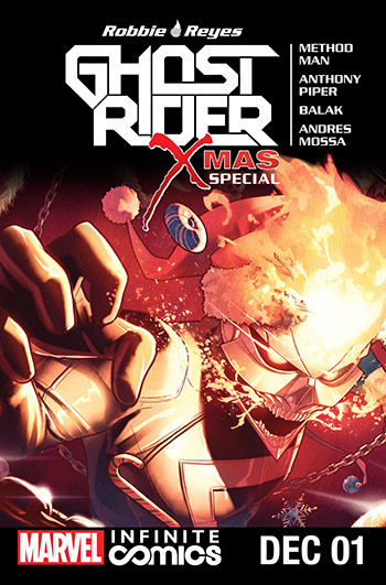 Ghost Rider X-Mas Special Infinite Comic (2016) #1