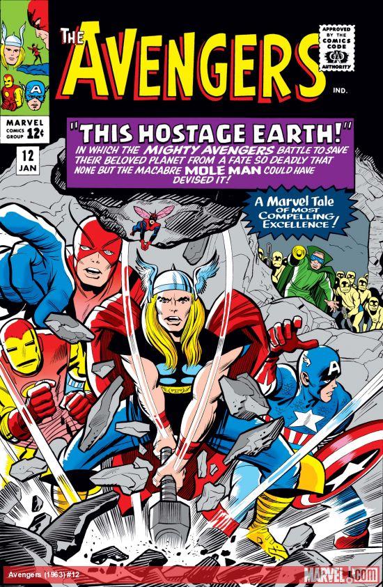 Avengers (1963) #12
