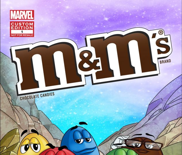 cover from Custom Sdcc 2017 M&M Comic (2017) #1