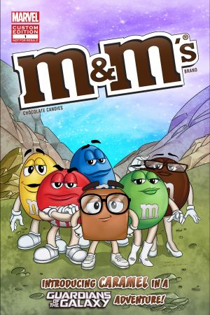 MARVEL COMICS PRESENTS – The M&M's (introducing CARAMEL) in: IF M BE MY DESTINY (2017)