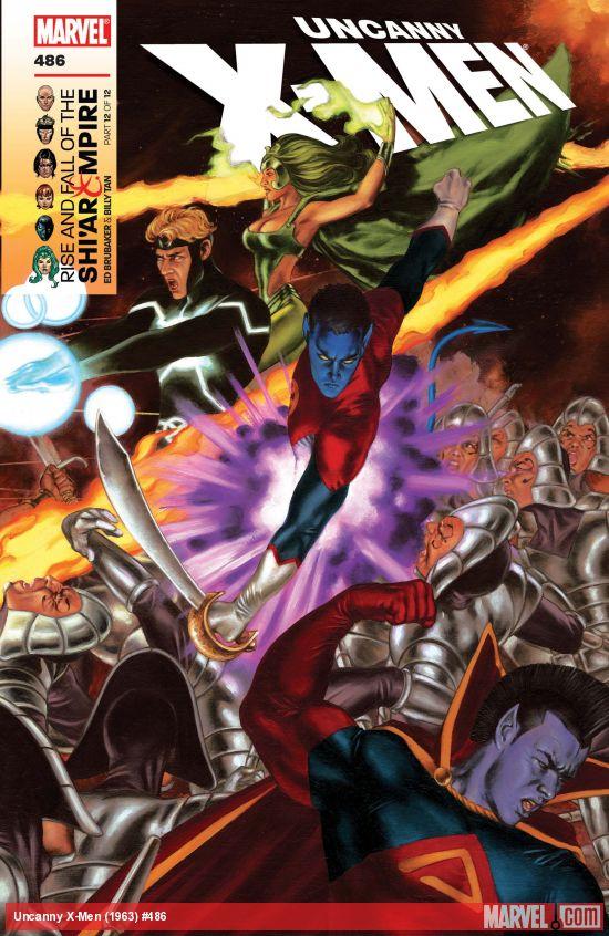 Uncanny X-Men (1963) #486