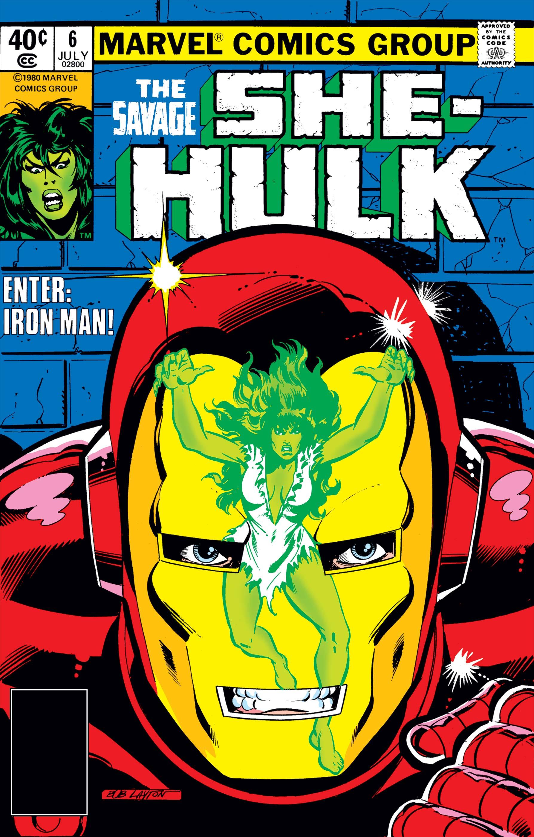 Savage She-Hulk (1980) #6