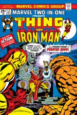 Marvel Two-in-One (1974) #12 cover