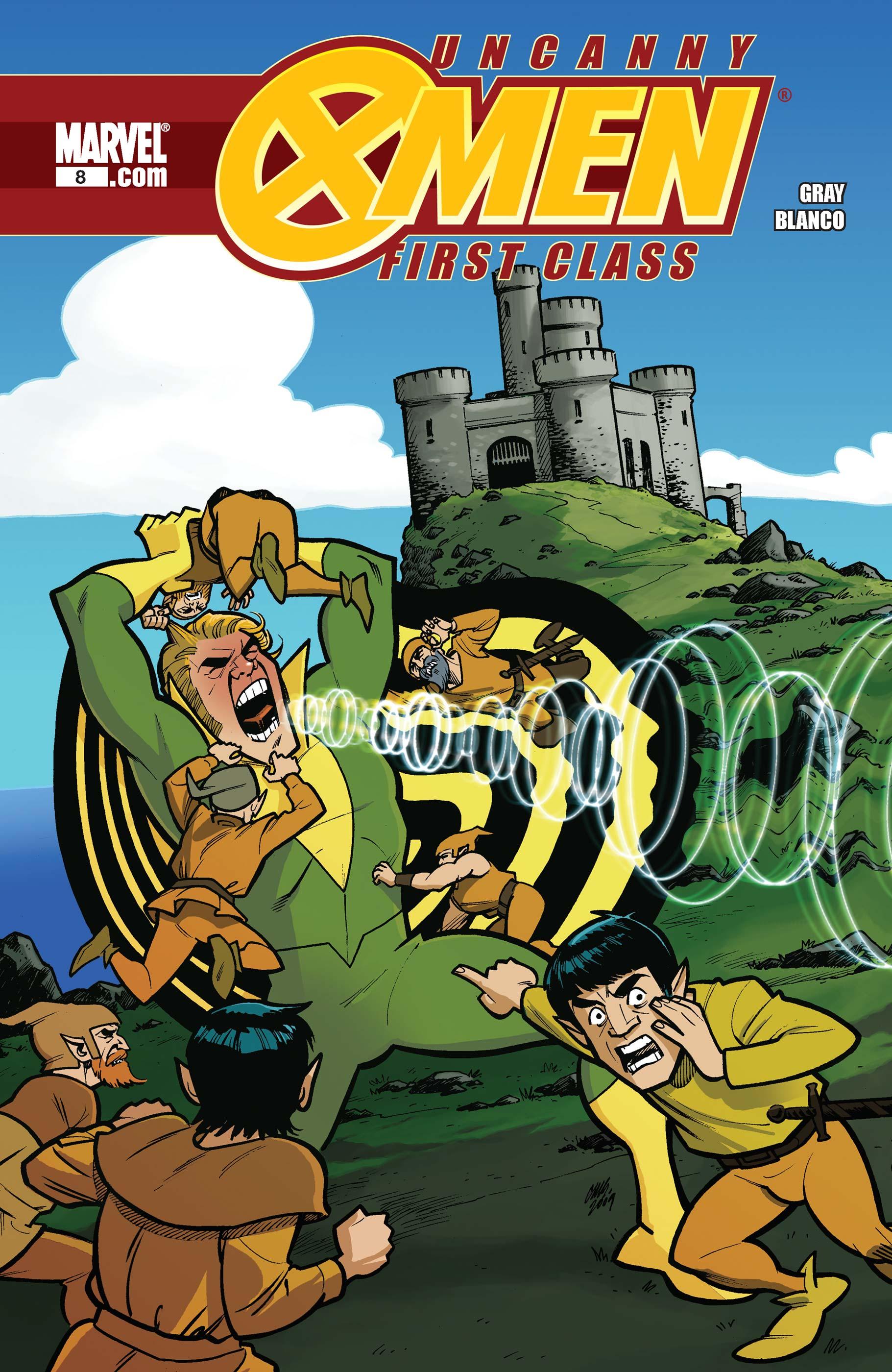 Uncanny X-Men: First Class (2009) #8