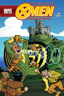 Uncanny X-Men: First Class #8