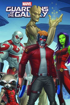 Marvel Universe Guardians of the Galaxy Vol. 6 (Digest)