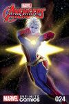 cover from Marvel Universe Avengers: Ultron Revolution (Digital Comic) (2017) #24