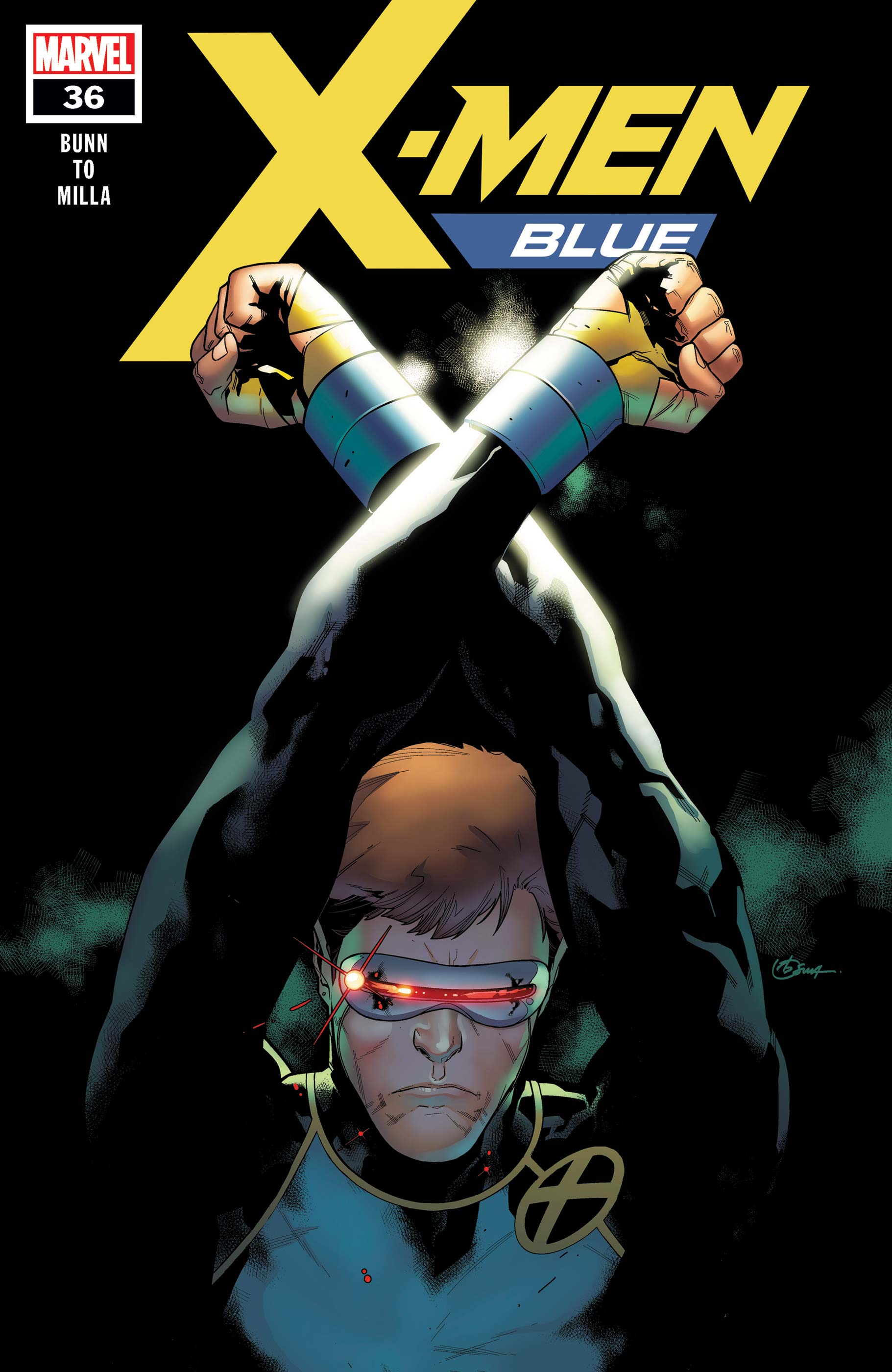 X-Men: Blue (2017) #36