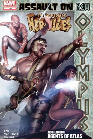 Incredible Hercules (2008) #138