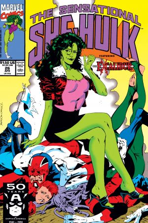 Sensational She-Hulk (1989) #26