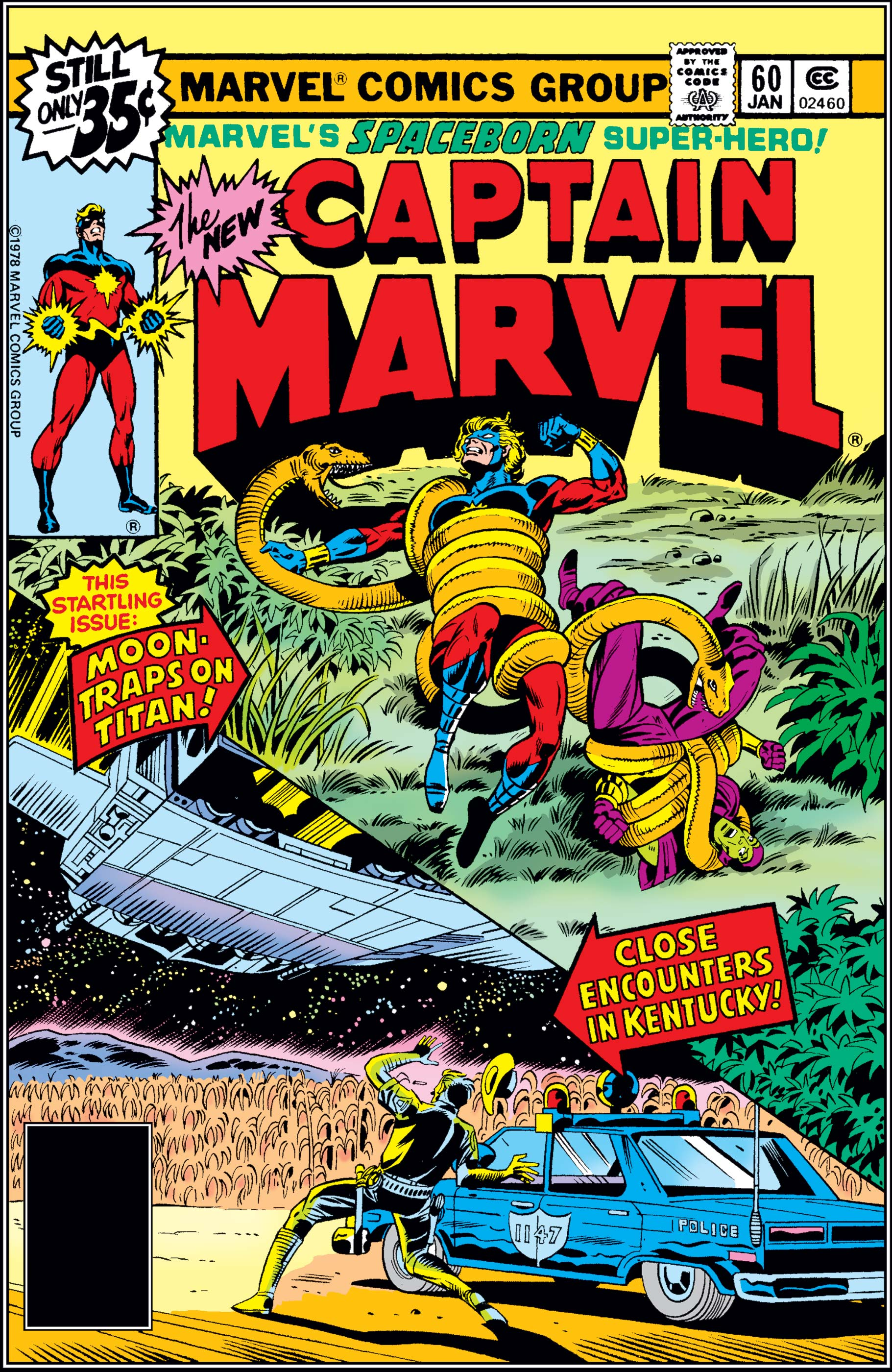 Captain Marvel (1968) #60