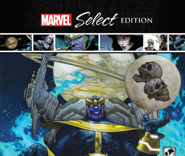 THANOS RISING MARVEL SELECT HC #1