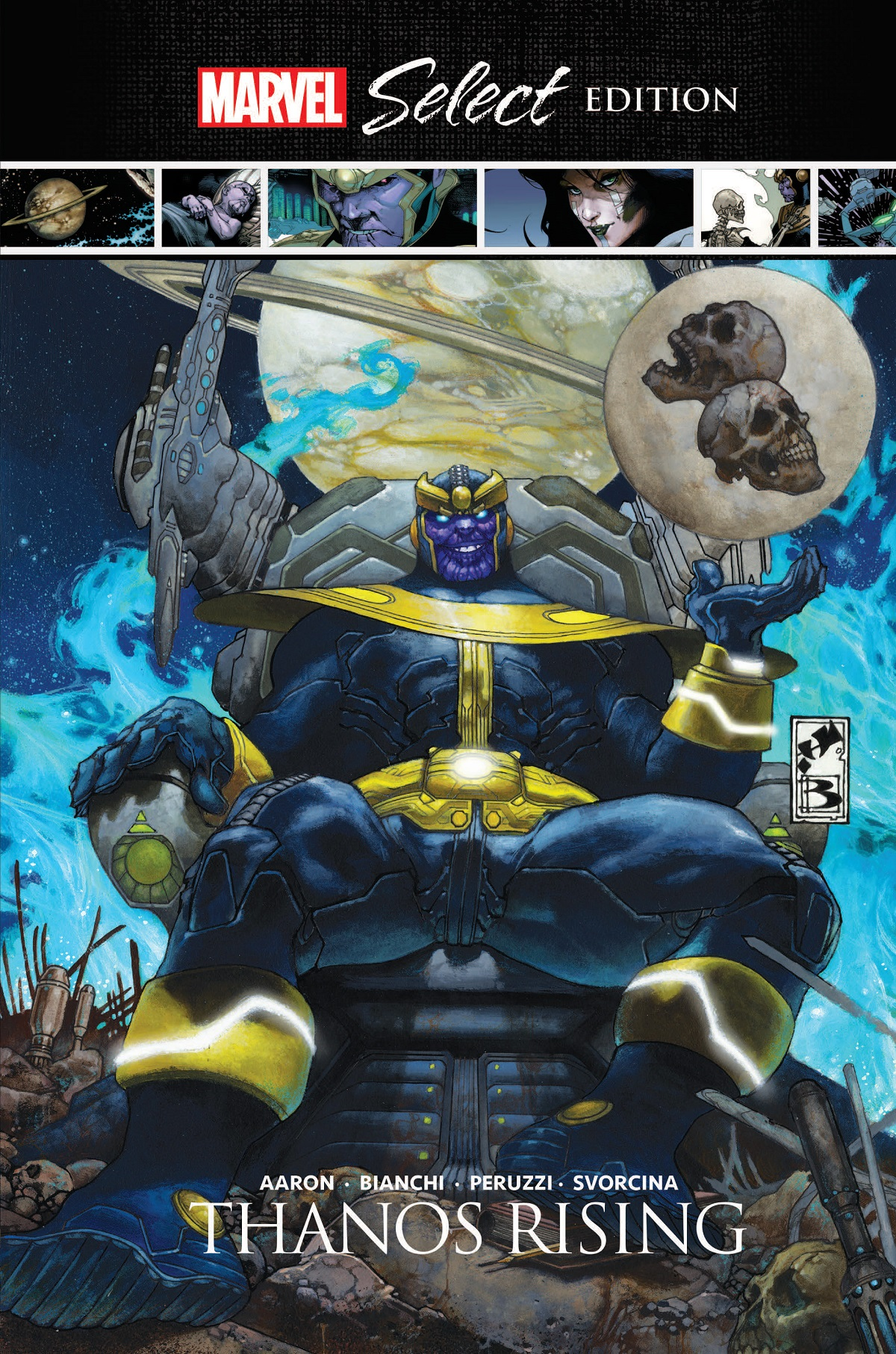Thanos Rising Marvel Select (Hardcover)