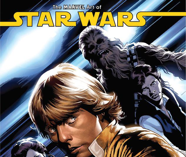 THE MARVEL ART OF STAR WARS HC #1