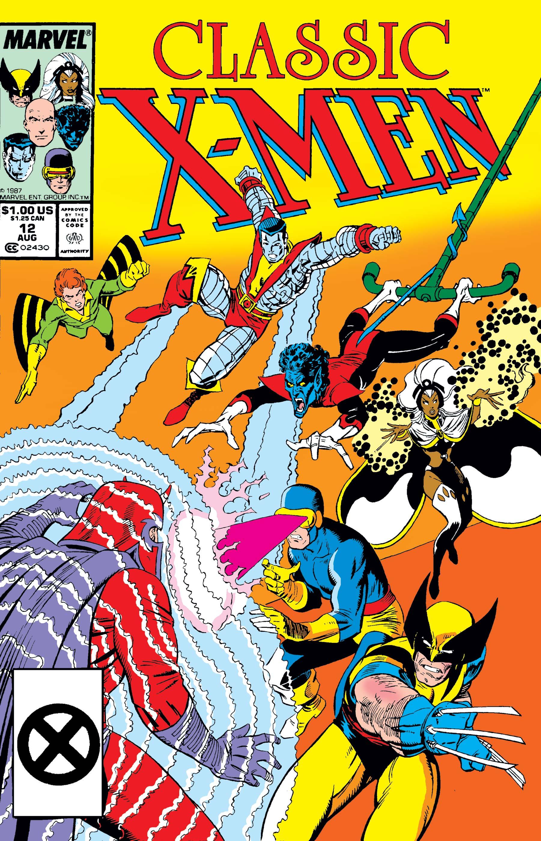 Classic X-Men (1986) #12