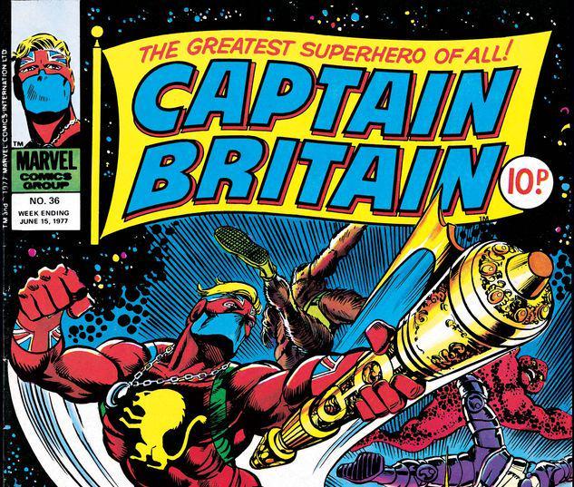 Captain Britain #36