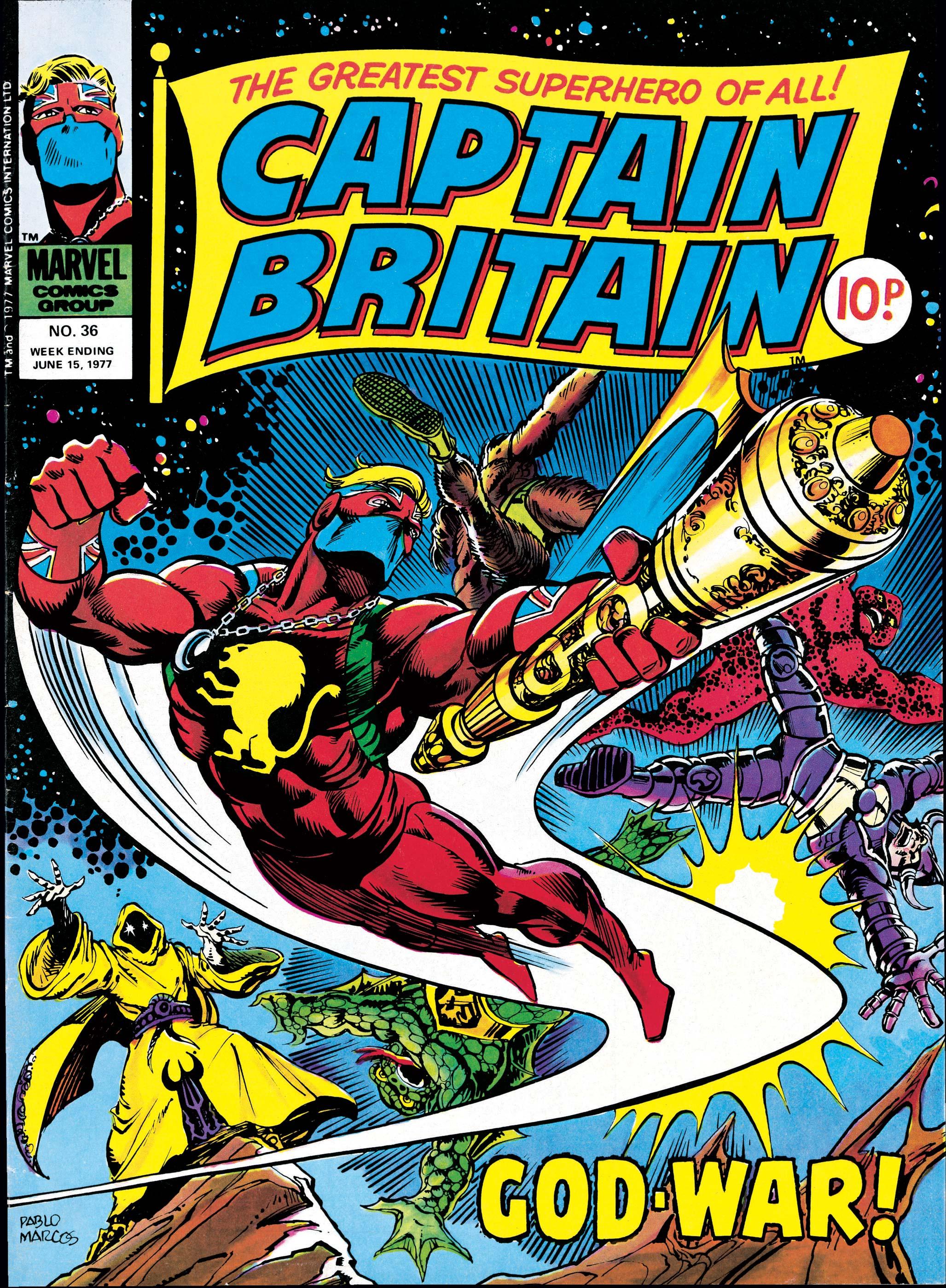 Captain Britain (1976) #36