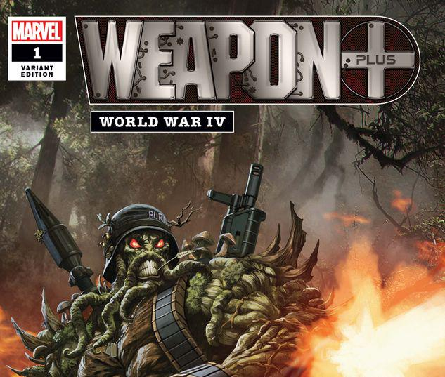 WEAPON PLUS: WORLD WAR IV 1 SKAN VARIANT #1
