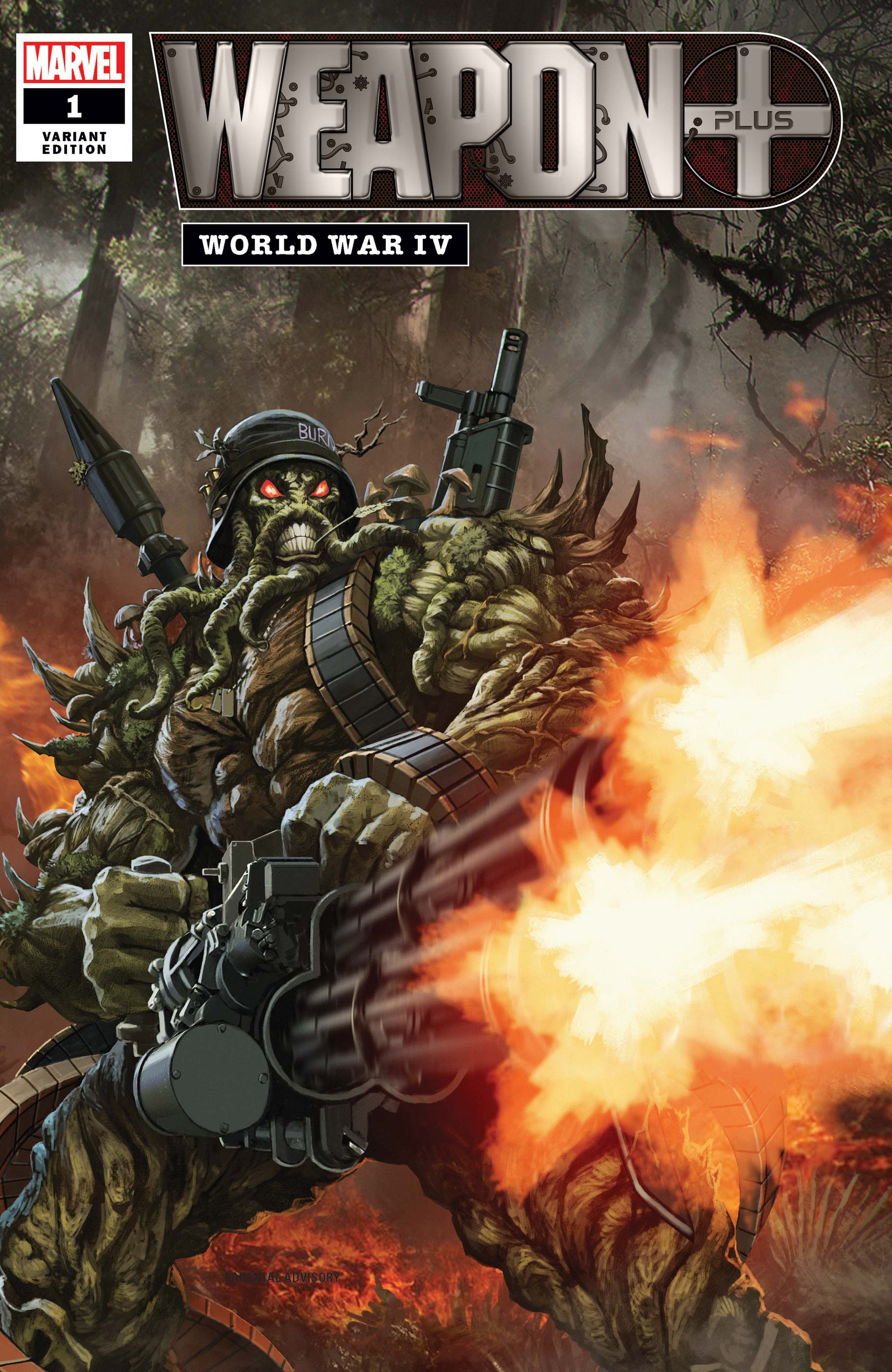 Weapon Plus: World War IV (2020) #1 (Variant)