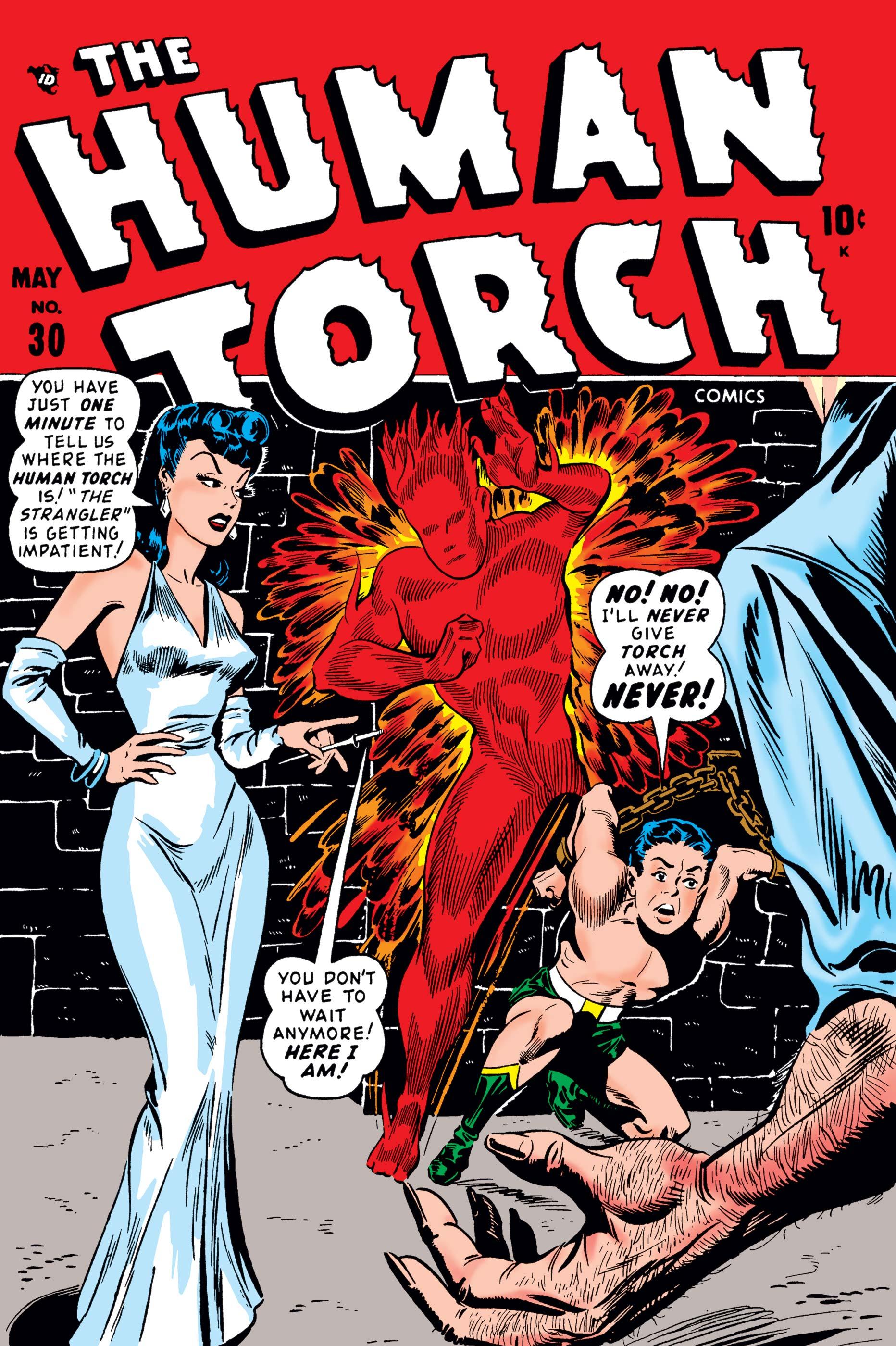 Human Torch Comics (1940) #30
