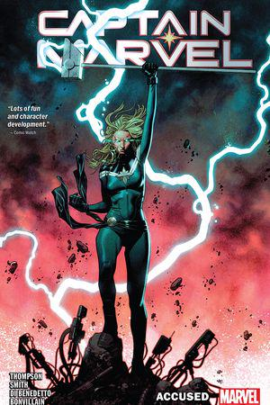 Captain Marvel Vol. 4: Accused (Trade Paperback)