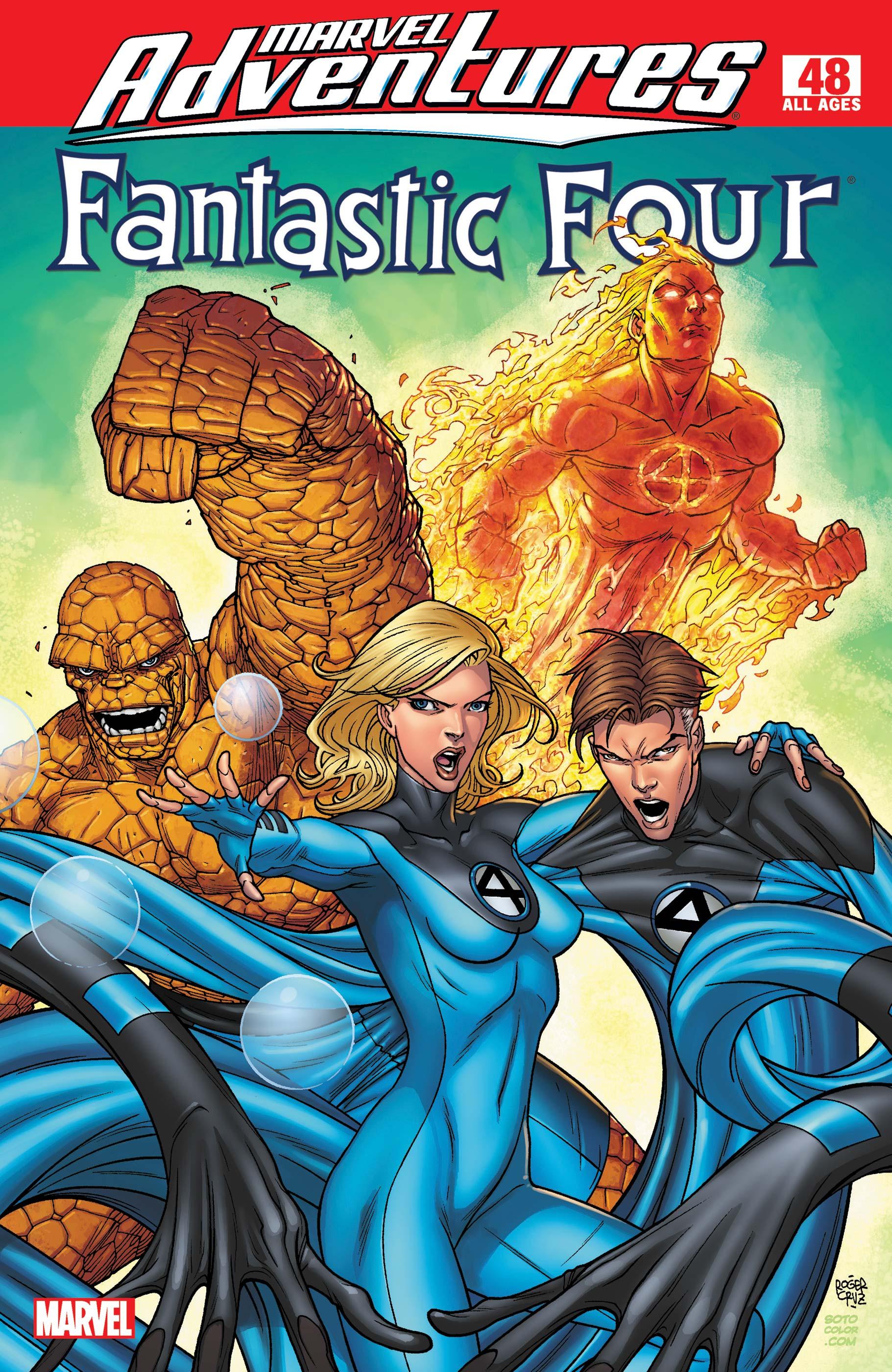 Marvel Adventures Fantastic Four (2005) #48