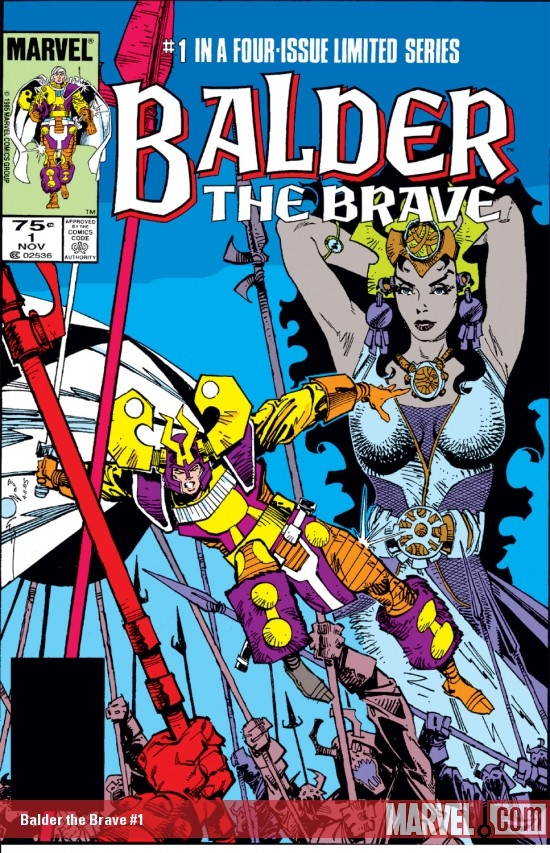 Balder the Brave (1985) #1